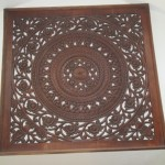 Solid Wood Wall Hanging-$200