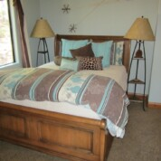 SOLD! Ethan Allen Somerset Queen Sleigh Bed w/Bedding