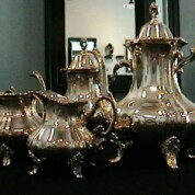 SOLD! Sterling Silver Coffee/Tea Set